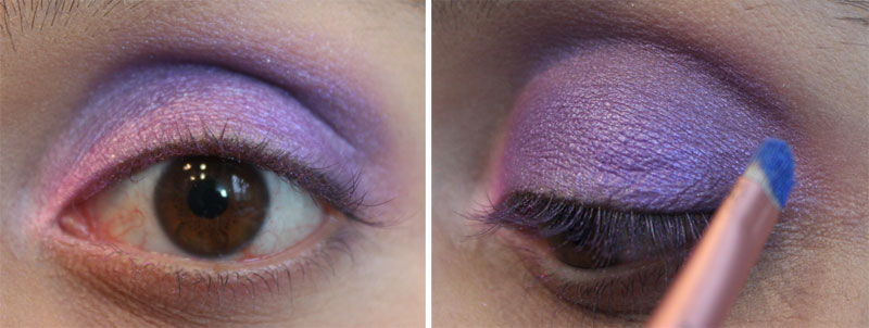 52 Tutorial de Maquiagem: Super Roxo