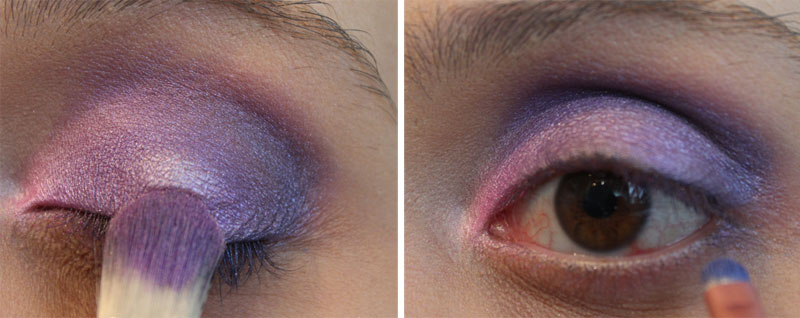 72 Tutorial de Maquiagem: Super Roxo