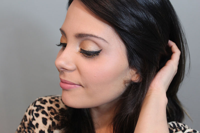 IMG 6640 Tutorial de Maquiagem: Ashley Benson Inspired