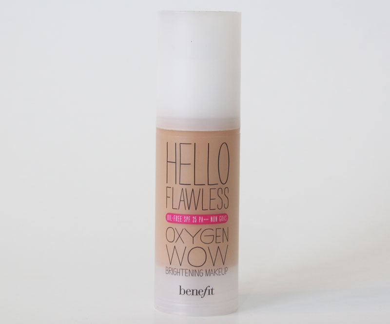 base hello flawless benefit claudinha stoco 1 Base Hello Flawless Oxygen Wow da Benefit Cosmetics