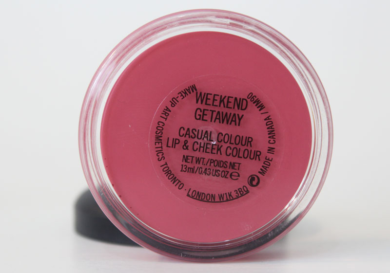 casual cheek lip colour weekend getaway mac claudinha stoco 2 Casual Colour Lip and Cheek Weekend Getaway da MAC