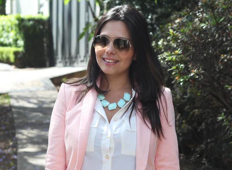 look blazer rose jeans claudinha stoco 6 Look Blazer Rosê!