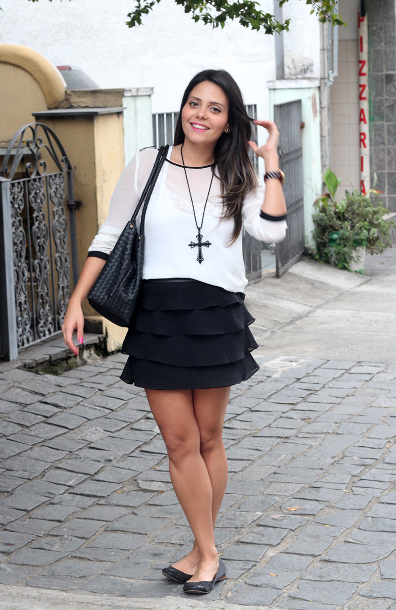look black white claudinha stoco 3 Look: Black & White