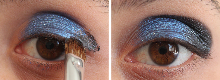 3 Tutorial de Maquiagem: Azul com Brilhos!