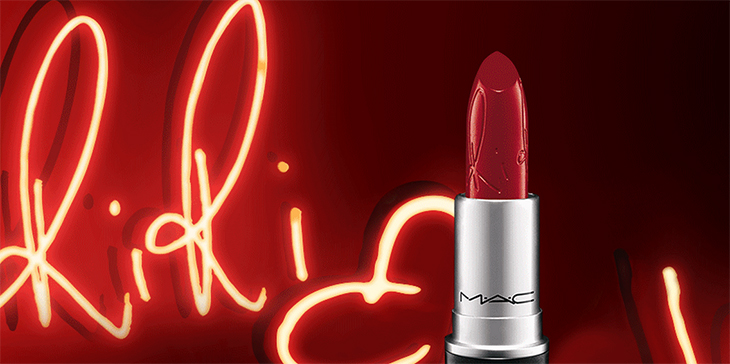 riri woo mac claudinha stoco 1 Riri Woo: O batom da Rihanna!